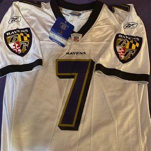 Autographed Kyle Boller #7 Ravens Jersey
